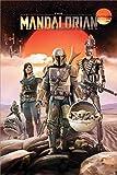 Pyramid Star Wars The Mandalorian - Group Unisex Poster