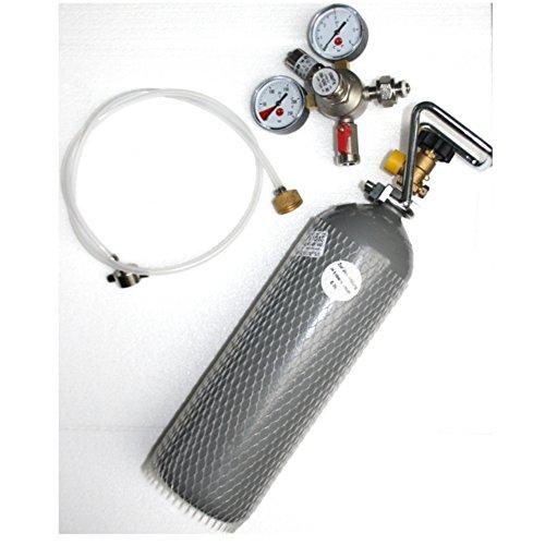 Gastrobedarf Westerbarkey Umbausatz für Biermaxx Clatronic Koenig 1880 Zapfanlage Set mit Uhr & 2kg Co²