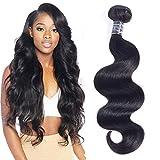 Amella Hair 8A Brazilian Virgin Hair Body Wave 1 Bundle 100% Unprocessed Brazilian Body Wave Remy Human Hair Extensions(16inch)