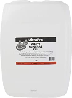 5 Gal - Food Grade Mineral Oil for Stainless Steel, Cutting Boards and Butcher Blocks, NSF