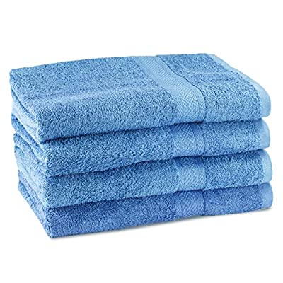CrystalTowels Towels - Extra-Absorbent - 100% Cotton
