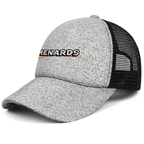 LHSPOSIFD Unisex Man's Baseball Hats Casual Adjustable Mesh Dad Menards-Logo-Symbol-Flat Cap