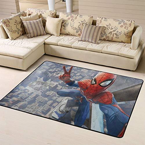 Zmacdk Spiderman Tapis de couloir pour couloir Cadeau pour bébé pour la maternelle 180 x 270 cm