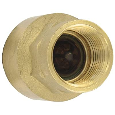 """W.E. Anderson® Brass Inline Check Valve, BICV-0F01, 3/8"""" Connection, 4.55 Cv Value by Dwyer Instruments, Inc."""