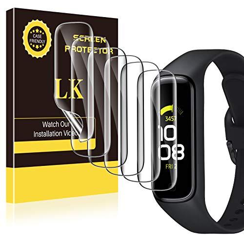 LK Compatibile con Samsung Galaxy Fit 2 Pellicola Protettiva,6 Pezzi,Sensibile al tatto, Senza Bolle, HD Trasparente TPU Pellicola