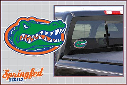 Florida Gators GATOR HEAD LOGO 4' Vinyl Decal Car Truck Sticker UF