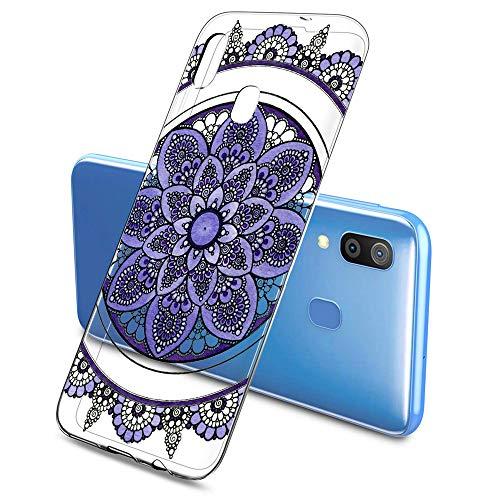 Suhctup Coque Compatible pour Samsung Galaxy S7 Edge,Transparent en Silicone TPU Souple Etui,Ultra Fin Anti Choc Housse Couverture Bumper Housse de Protection pour Galaxy S7 Edge,Multicolore