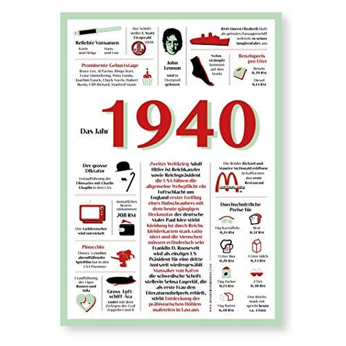 Tolle Geschenkidee: Jahreschronik 1940