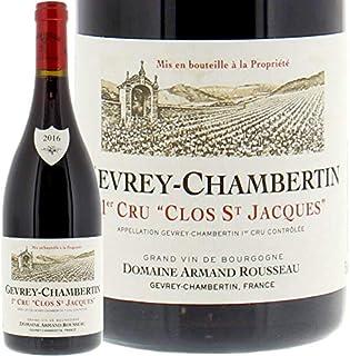 2016 ジュヴレ シャンベルタン クロ サン ジャック プルミエ クリュ アルマン ルソー 赤ワイン 辛口 750ml Armand Rousseau Gevrey Chambertin 1er Cru Clos St Jacques