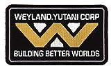 Titan One Europe - Tactical Building Better Worlds Weyland Yutani Alien Crew Cap Shirt Patch Klettband Taktisch Aufnäher