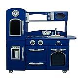 Teamson Kids Kitchen, Wood, Marineblau