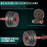 Zoom IMG-2 arteesol kit manubri bodybuilding 10kg
