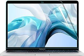 MacBook Air13/MacBook Pro13用 ブルーライトカットフィルム 液晶保護フィルム 超反射防止 映り込み防止 指紋防止 気泡レス 抗菌ブルーライトカット アンチグレア
