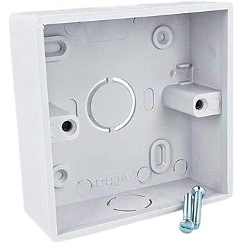 LEDLUX CL8686 Cajas de empotrar para paredes - Formato cuadrado - Medidas 86 x 86 cm: Amazon.es: Iluminación