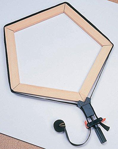 イチネンミツトモ『スリーアキシス(threeaxis)木工用万能ベルトクランプ最大外周360cm14408』