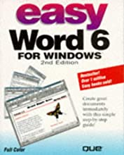 Easy Word 6 For Windows