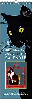 Linnea Design Cat Birthday & Anniversary Perpetual Calendar for Important Family Dates Special Event Calendar Reminder
