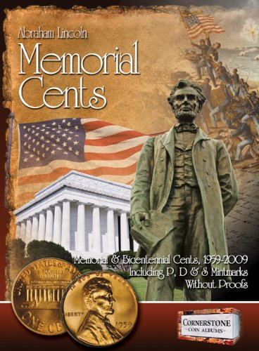 Lincoln Memorial Cents, 1959-2009 P, D & S Mintmarks (Cornerstone Coin Albums)