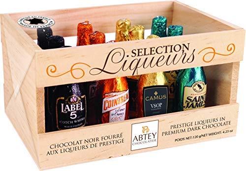 Abtey - Chocolates al licor - 12 botellitas 155g