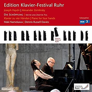 Haydn: Die Schöpfung, Part 1 & Part 2 (Edition Ruhr Piano Festival, Vol. 24)