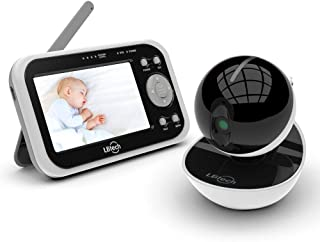 Video Baby Monitor with one Digital Camera, LBtech Wireless Video Monitor,4.3 inches LCD,Infrared Night Vision,Two-Way Talkback,Temperature Detection,Power Saving Model,Support Multi-Camera