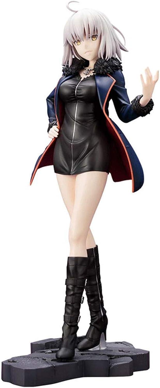 FateGrand Order Schwarze Jeanne d'Arc Schwarze Anzug-Actionfigur Ungefhr 23 cm hoch