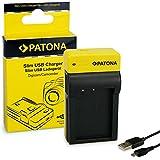 PATONA Estrecho Cargador de Batería para Canon LP-E17, EOS 750D, 760D, 8000D, Rebel | 8.4 V/500 mA | Micro-USB Cable