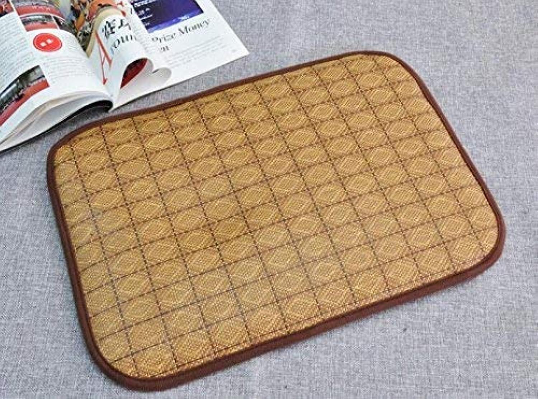FERZA petsuppliesmisc Playing Bamboo Mat Pad Bed Supply Pet Bed Blanket Pet Cat Dog Comfortable Cool Summer Sleeping XXL 100  75CM
