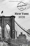 New York Kalender 2020 • Schwarz Weiß: Wochenkalender 2020 • New York Sehnsuchtskalender • New York Geschenk • Städtekalender 2020 • Monatskalendarium und Wochenplaner 2020 mit Ferienterminen - JetlagJournals Kalender