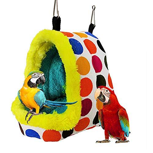 Hangmat van katoen voor huisdieren, warme hangmat voor huisdieren, slaapzak voor het ophangen van warme apparatuur voor kleine vogels en huisdieren