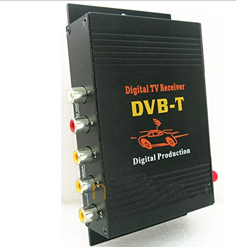 Witson Car DVB-T Digital TV Receiver Box Tuner MPEG-4 for Europe, Asia and Africa