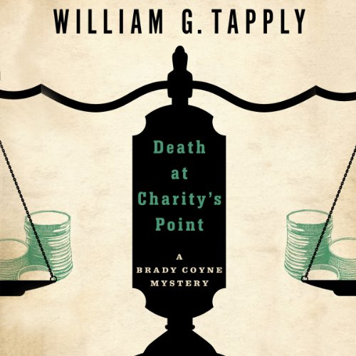 Death at Charity's Point audiobook cover art