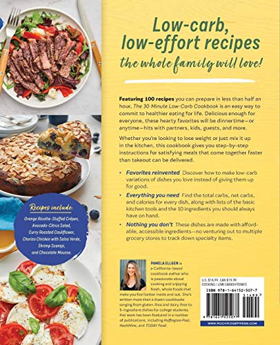 The 30-Minute Low-Carb Cookbook 2