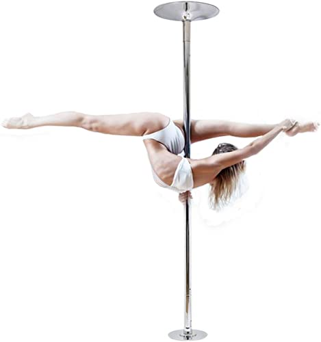 2021 nobrand Waller PAA sale 45mm Portable Stainless discount Steel Dance Pole Spinning Static Dancing Fitness online
