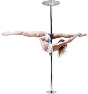 nobrand Waller PAA 45mm Portable Stainless Steel Dance Pole Spinning Static Dancing Fitness