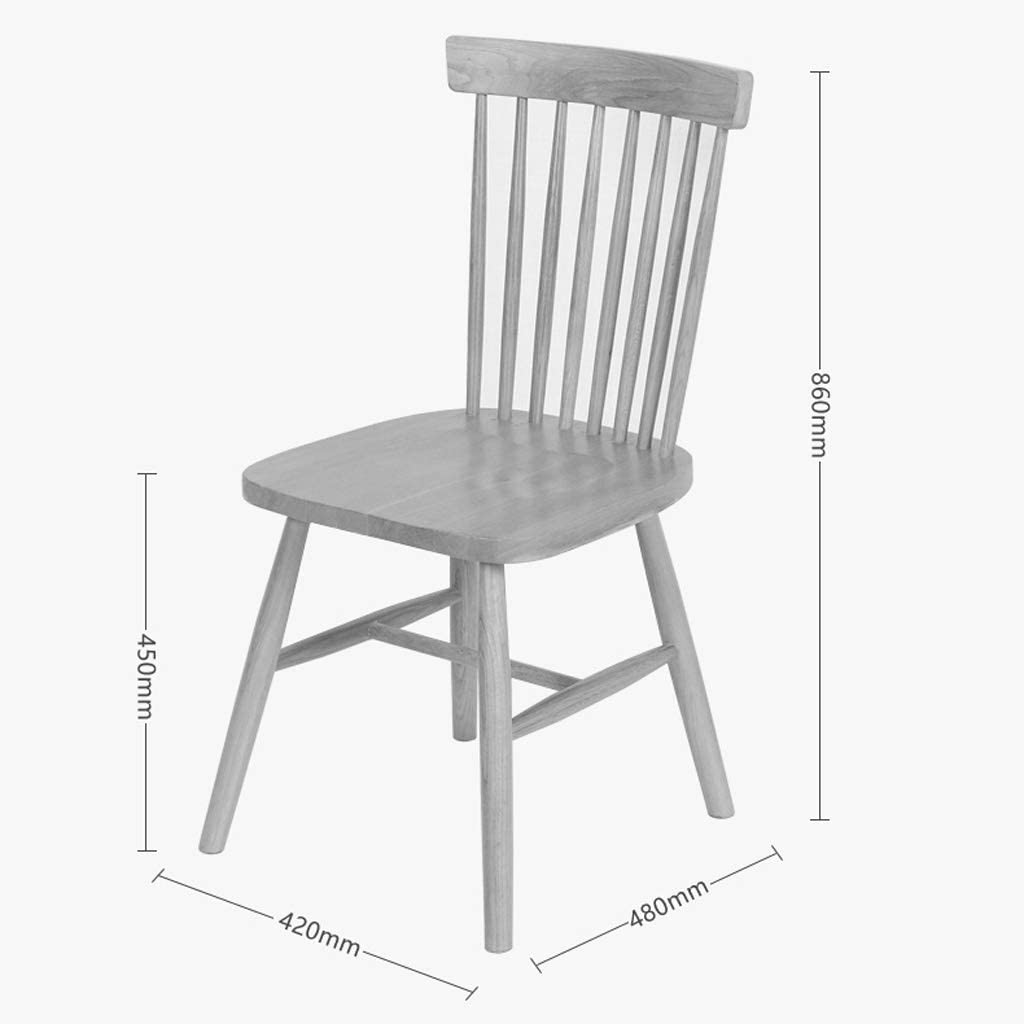 HXF- Chaise de salle à manger, chaise de bureau simple, dossier créatif, chaise de loisirs, chaise de salle à manger pour adulte durable (couleur : C) B