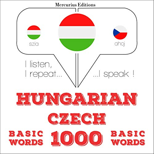 Hungarian – Czech. 1000 basic words cover art