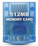 Link-e : Tarjeta de memoria alta capacidad 512mb (4x2043 Blocks) para consola Nintendo Wii + Gamecube