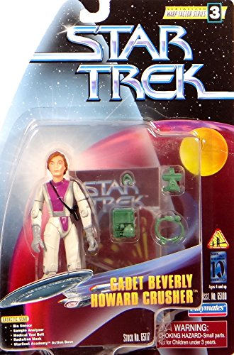PlayMates Cadet Beverly Howard Crusher - Actionfigur Star Trek The Next Generation Warp Factor Series