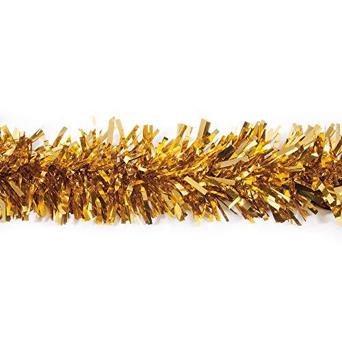 25' Gold Metallic Twist Novelty Christmas Garland