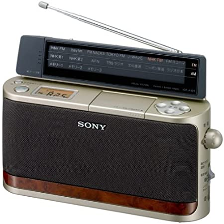 SONY FM/AM ホームラジオ A101 ゴールド ICF-A101/N