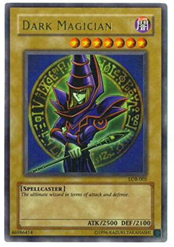 Yu-Gi-Oh! - Dark Magician (LOB-005) - Legend of Blue Eyes White Dragon - Unlimited Edition - Ultra Rare