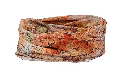 Ruffnek Scafell Pikes Cache-Cou National Three Peaks (UK) Multifonction foulard - Taille Unique - pour Hommes, femmes, enfants et chiens de taille moyenne !