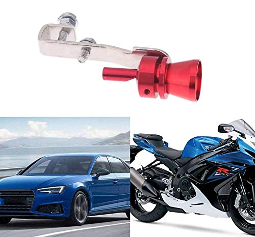 Multi-Purpose Car Turbo Whistle, Exhaust Pipe Roar Simulator, Aluminum Auto-Grip Car Sound Maker Oversized (S)