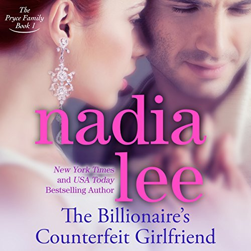 The Billionaire's Counterfeit Girlfriend audiobook cover art
