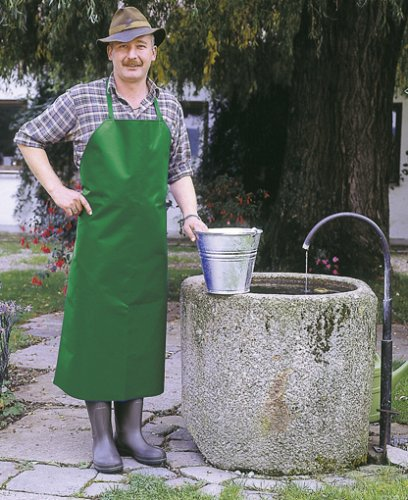Kerbl Waschschürze, Landwirtschaft Haus Hof wasserundurchlässig, Grün 120x80