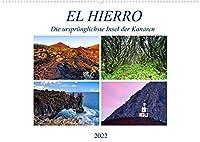 El Hierro - Die urspruenglichste Insel der Kanaren (Wandkalender 2022 DIN A2 quer): Die kleinste Insel der Kanaren besticht durch Ruhe und eine einmalige Landschaft. (Monatskalender, 14 Seiten )