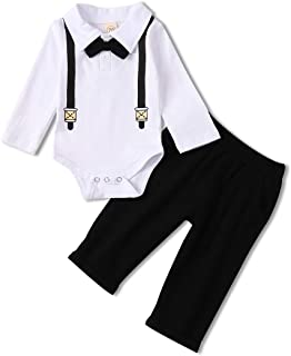 Baby Boys Clothes Gentleman Outfits Suits, Infant Long...