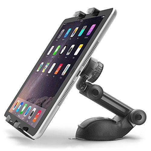 iOttie Smart Tap 2 Supporto da Tavolo e auto per Tablet e iPad da 4.5  a 7  Compatibile iPad Air 4 3 2 iPad Mini Retina, Galaxy Tab 4 3, Nexus 7, Kindle Fire HD  7 6  Fire HDX 8.9 7  Fire 2, Nero