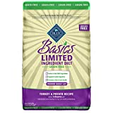 Blue Buffalo Basics Limited Ingredient Diet Grain Free, Natural Indoor Adult Dry Cat Food, Turkey & Potato 11-lb